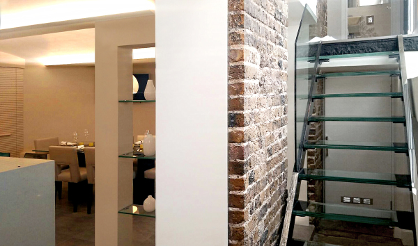 Residential refurbishment in Knightsbridge