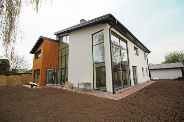 New build in Leicester